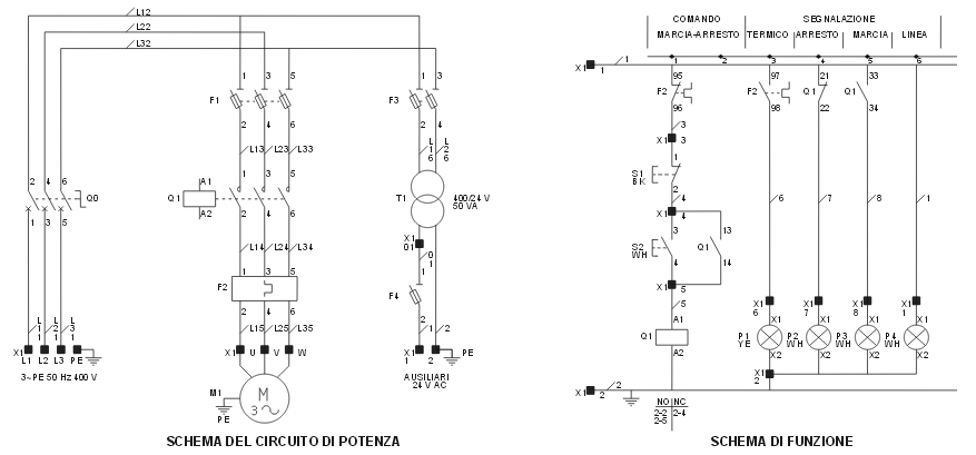 Schemi Elettrici Impianti Industriali : Schemi elettrici macchine industriali